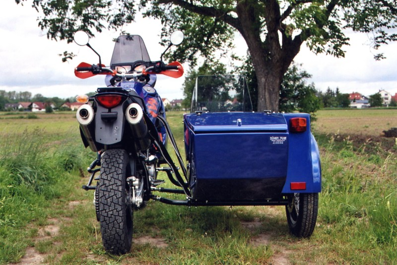 Ktm Adventure Sidecar